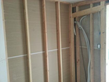 closet wall Saturday morning