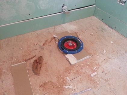 toilet closet: post-work