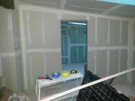 bedroom looking to bathroom