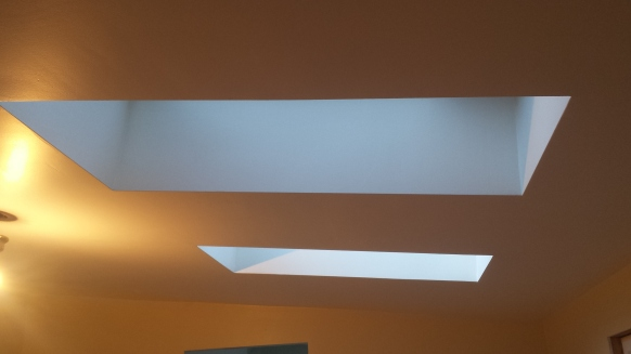 the bedroom skylights