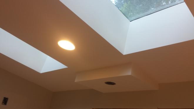 the bathroom skylights