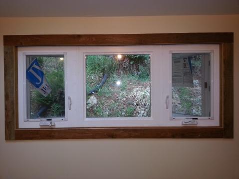 bedroom window trim