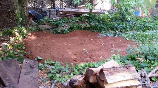 full septic pit!