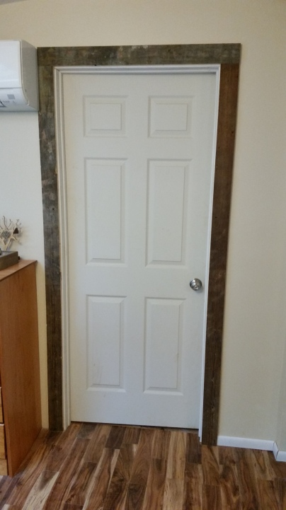 the door leading to the laundry room