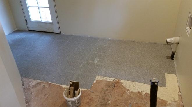 more tile down